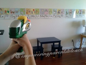 Empowering Parents to Teach : Alphabet Line game