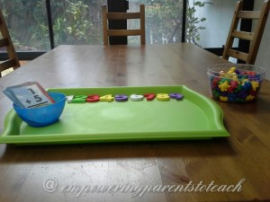 Empowering Parents To Teach: Hands on adding with math bears