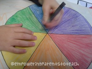 Empowering Parents to Teach- Color testing