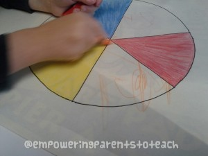 Empowering Parents to Teach- Adding Orange to the Color Wheel