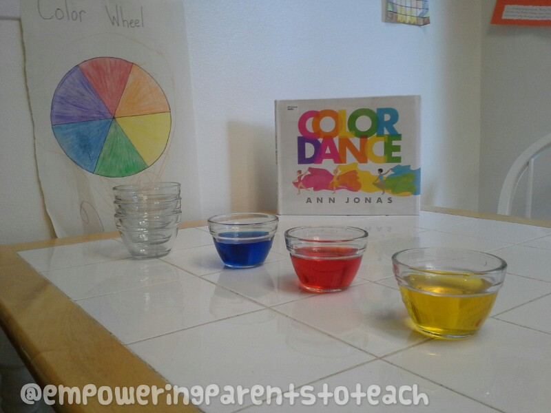 Empowernig Parents to Teach- Color Mixing Activity and Book