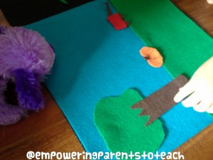 Empowering Parents To TEach- dog looking for mouse