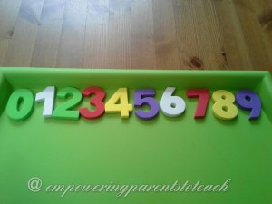 Empowering Parents to Teach: Numbers