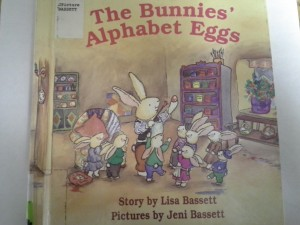Empowering Parents to Teach- The Bunnies' Alphabet Eggs