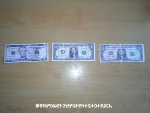 Empowering Parents to Teach- Counting Money