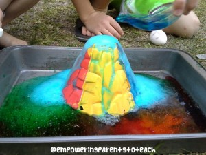 Empowering Parents to Teach- Colorful Eruption