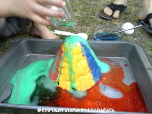 Empowering Parents to Teach- Colorful Eruptions