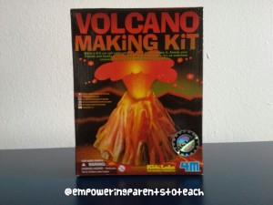 Empowering Parents to Teach- Volcano Kit