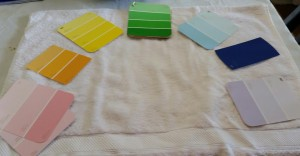 Empowering Parents to Teach- Color Swatches for Writing