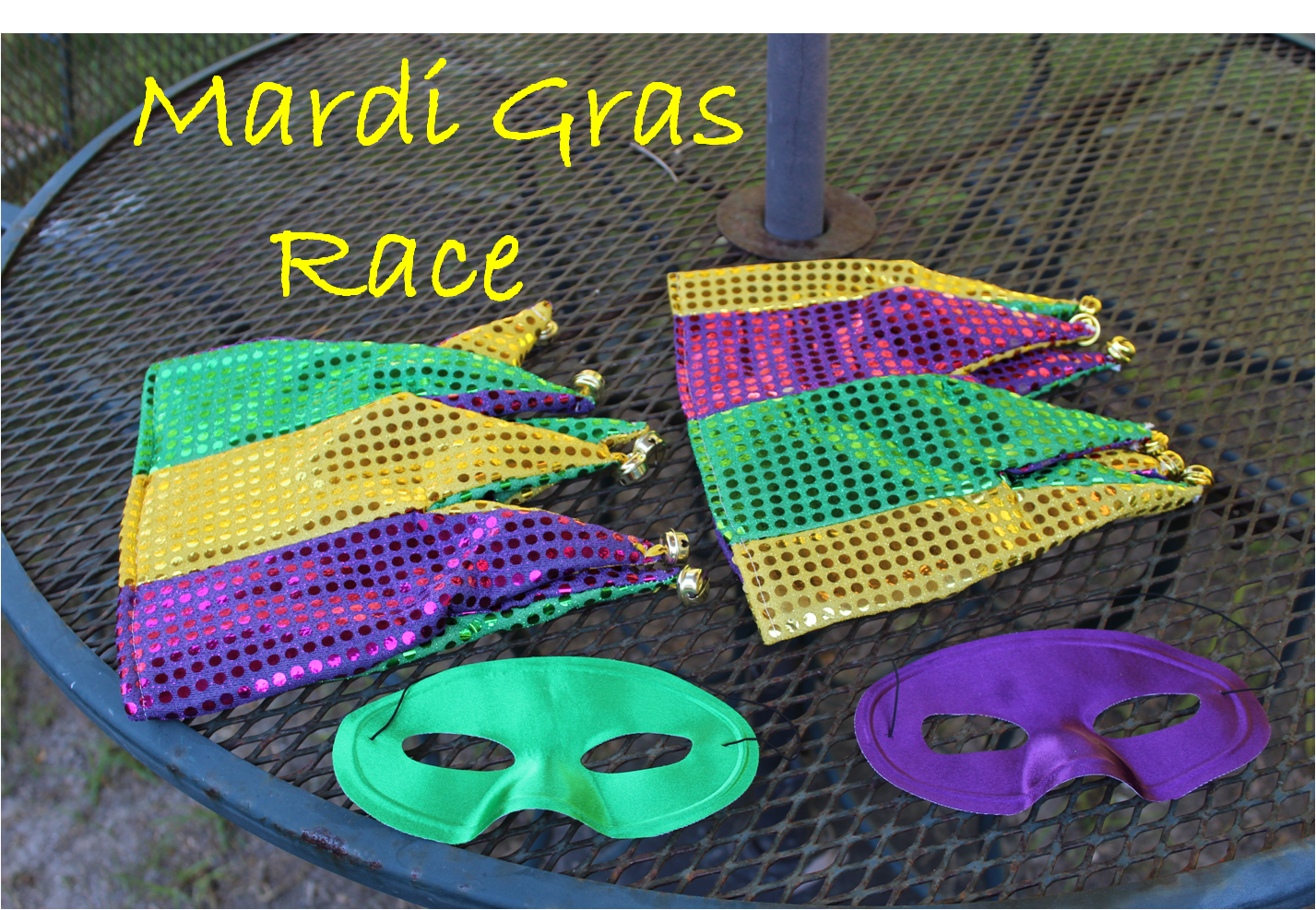 Empowering Parents To Teach- Mardi Gras Race