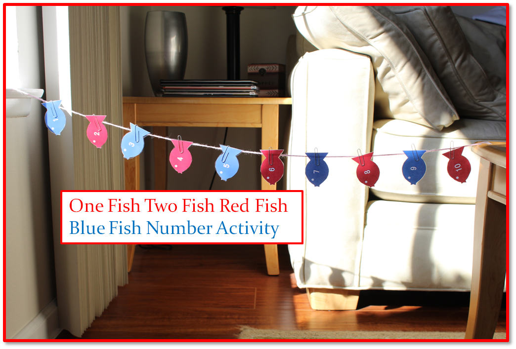 Empowering Parents To Teach- One Fish Two Fish Red Fish Blue FIsh
