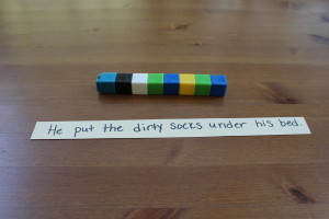 Empowering Parents To Teach: Grammar With Linking Cubes