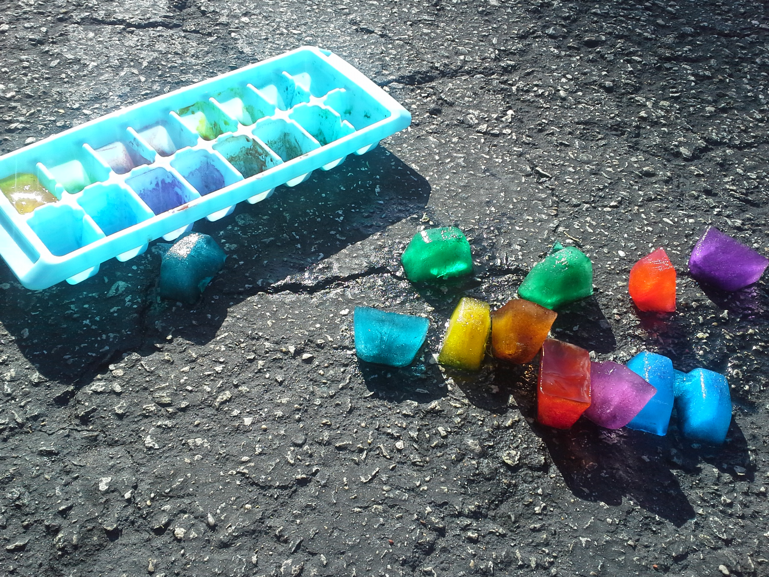 Empowering Parents To Teach- Colored Ice